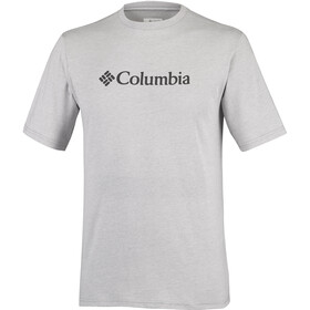Columbia CSC Basic Logo Short Sleeve Shirt Men Columbia Grey Heather